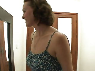 Hairy MILF and Beautiful Teen Enjoy Each Other