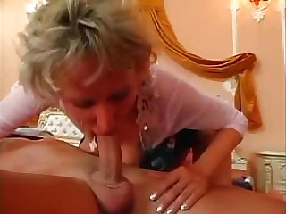 Horny Mommy with Young Boy