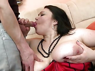 Shameless Mature Moms Fuck Young Sons
