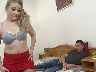 Real Mature Mother Seduce Lucky Young Lover