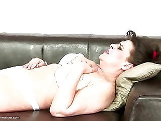 Mature Mother Having Anal Sex with Medic Couple