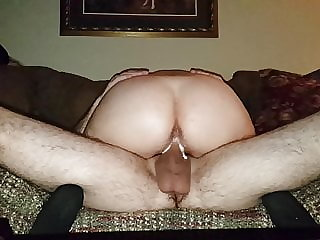 Part 2, 57 Yr Old Cougar Rides 29 Yr Old Cub on Couch