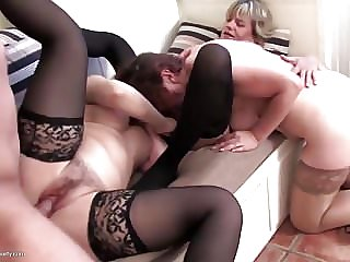 Real Mother Suck and Fuck Lucky Son
