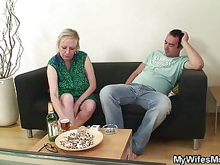 Wife Leaves and Not Motherinlaw Seduces Him