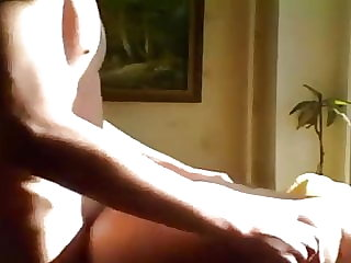 Russian Mom Fucking His Young Lover