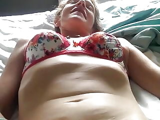 MILF Hairy Pussy Being Fingered
