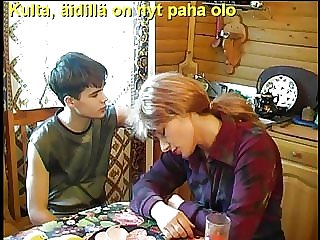 Slideshow with Finnish Captions: Mom Elisabeth 1