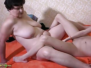 Oldnanny Mature Granny Women and Teen Lesbian