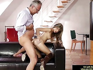 Young British Teen Assfucked Deeply