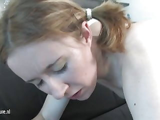 Old and Young Lesbians Play with Fisting and Strapon