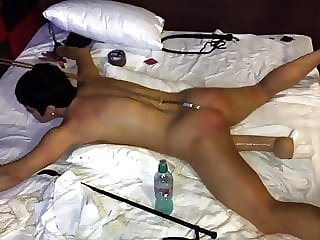 The Whore Get Fixed with Anal Hook and Spanked Hard