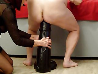 Biggest Hugest Xxxl Anal Dildo 15x60cm Destroys Ass