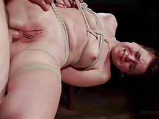 Hard Fucking in Tight Bondage