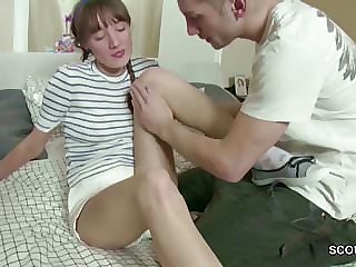 Cute Teen Get First Time Anal Fuck by Big Dick Step-bro