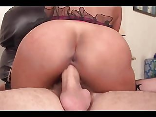 Busty Black Boss Gets Solid Dick