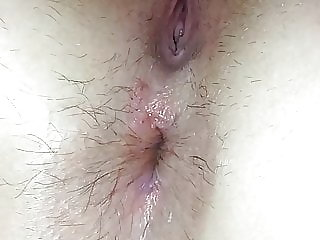 Opened Ass While in Bed. the Day After First Anal