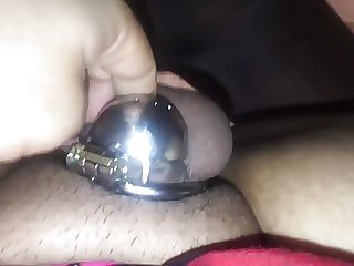 Sissy Fucked in Chastity by BBC