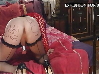 5th Exhibition for Bbc112: White Sissy Cumslut for BBC