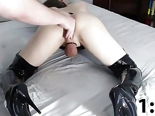 Sissy Anal Training Compilation