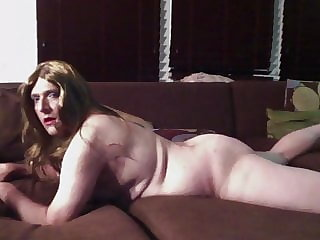 Naked Mature Sissy Bitch Loves to Play