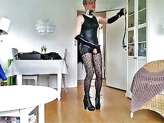 Sissy Sexy Leather Toy