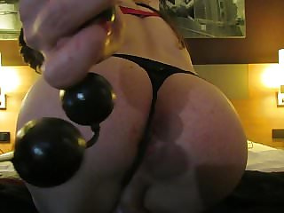 Sissy Pussy Filled with Balls