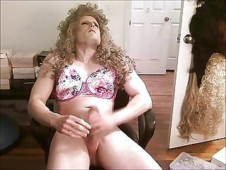 Barbara Blonde Sissy Jerk off