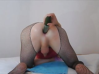 Sissy-boy Anal Pounded Till Handsfree Orgasms