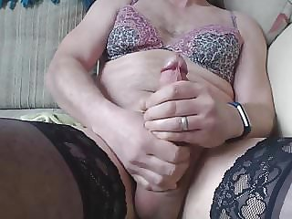 Sissy Cum over Undies