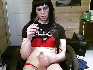 Ashley Valentine Sissy Smoke and Play