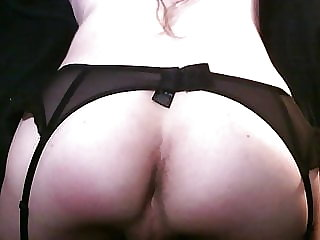 Sissy Slut Showing off Chastity and Ass