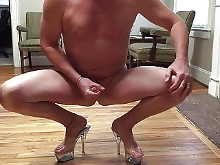 Sissy Cd from Nc Rubbing One out