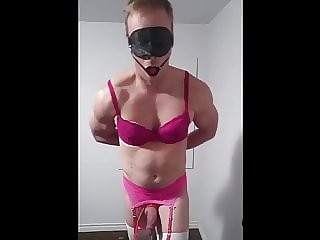 Sissy Dick Tied to Treadmill