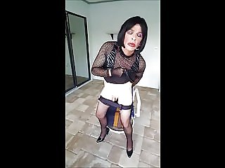 Sissy Dildo and Piss Session with a Twist