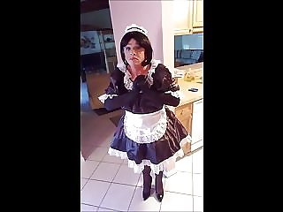 Sissy Roberta in Her Maids Uniform