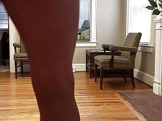 Sissy Cd from Nc in Heels and Thong