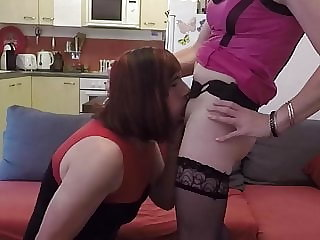 I Love Lucy. Lisa Peggging Her Sissy