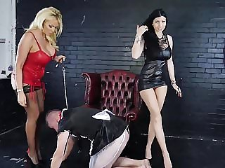 Lucy Zara, Dominatrix Lily Roma Sissy Feminisation Training