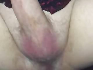 Sissy Fucked with BBC Strapon Closeup