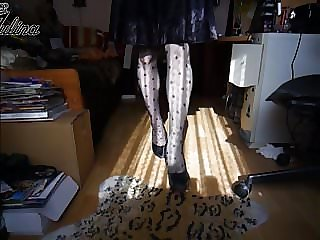 High Heels Walk Sissy Sklavin BDSM Fetisch Domina