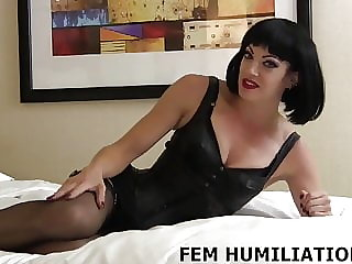 You Are Going to Be My Little Sissy Boy Sex Slave