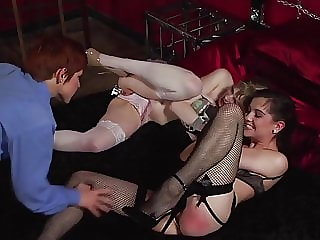 They Are Dominate by a Sexy Redhead