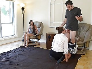 Mommy and Teen Share Dick