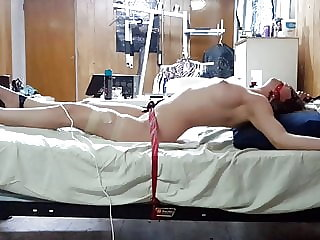 Post Orgasm Torture to My Girlfriend Witha Magic Wand