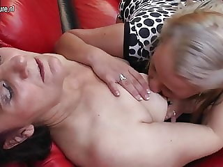 Old and Young Lesbians Love to Eat Ass and Pussy