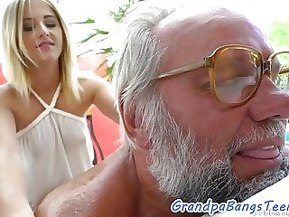 Euro Teen Drilled Outdoors by Lucky Grandpa