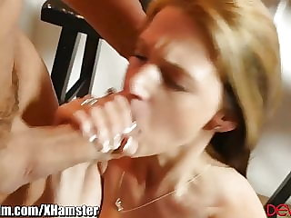 Tiny Teen Takes It Hard from Older Guy