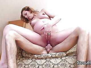 German Pregnant Mother Fucked Hardcore