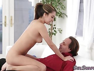 Horny Stepdaughters Suck