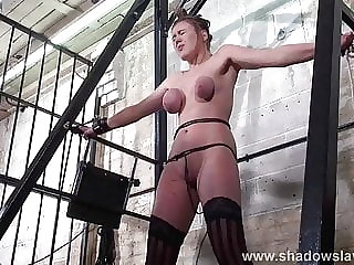 Taylor Hearts Extreme Tit Torture and Gagged Blonde Teen